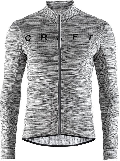Craft Reel Thermal Jersey Men dk grey melange/black